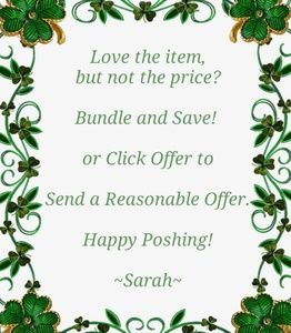 🍀Bundle and Save or Make an Offer🍀